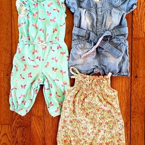 See all Pics* Size 3-6 month Girls Lot